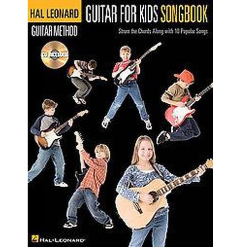 Guitar for Kids Songbook : Strum the Chords Along with 10 Popular Songs (Paperback) - image 1 of 1