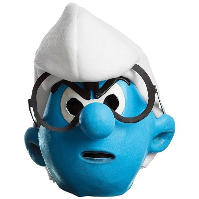 Smurfs Brainy Smurf Adult Mask