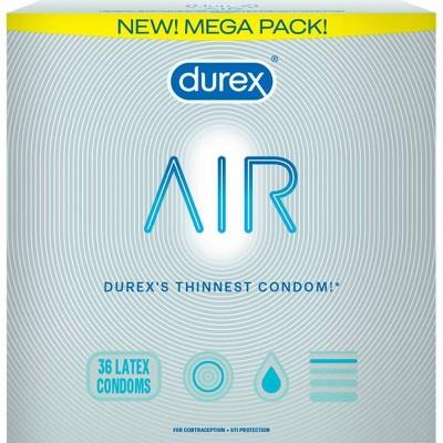 Durex Contraceptives Air - 36ct