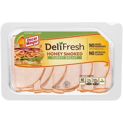 Oscar Mayer Deli Fresh Honey Smoked Turkey Breast - 9oz