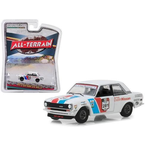 "1972 Datsun 510 Rally #281 ""Dublin Nissan"" La Carrera Panamericana ""All Terrain"" Series 7 1/64 Diecast Car by Greenlight - image 1 of 1"