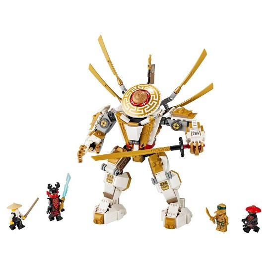 LEGO NINJAGO Legacy Golden Mech Building Kit 71702 image number null