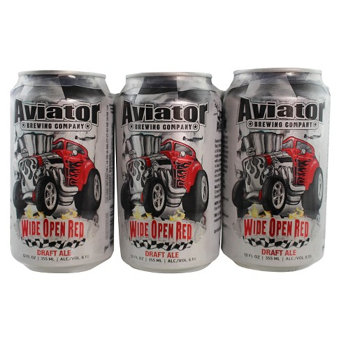 Aviator® Irish Red Ale - 6pk / 12oz Cans - image 1 of 1