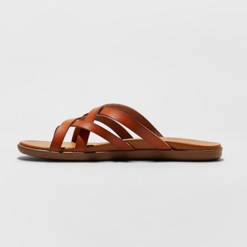 c3454fc49fd8 Women s Mad Love Adama Multi Strap Thong Sandals   Target
