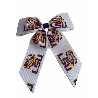 NCAA LSU Tigers Cheer Hair Pony