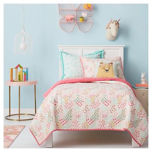 Flower Bear Throw Pillow 16 X16 Pillowfort 15 Target