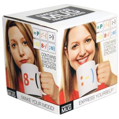 Paladone Products Ltd. Emoticon Coffee Mug & Stickers