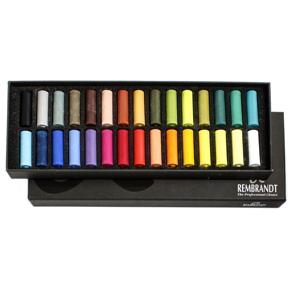 Image of Soft Pastels Half Size Multicolor - Rembrandt 30ct