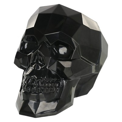 Small Halloween Crystal Skull Black - Hyde and Eek! Boutique™