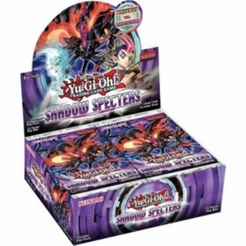 Yu-Gi-Oh Shadow Specters Booster Box Collectible Card Game (Box) - image 1 of 1