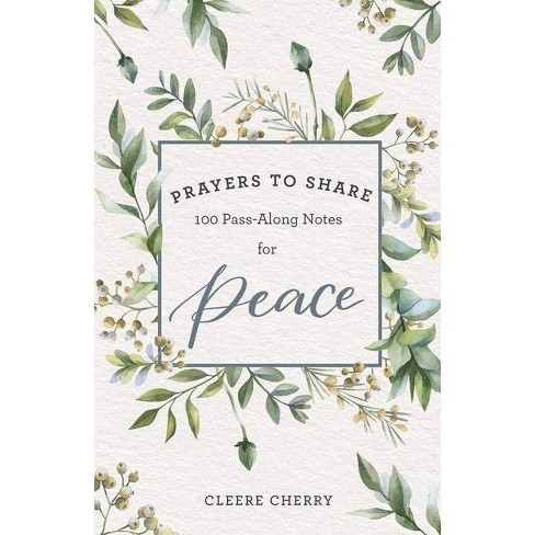 Prayers to Share for Peace - by  Cleere Cherry (Paperback) - image 1 of 1