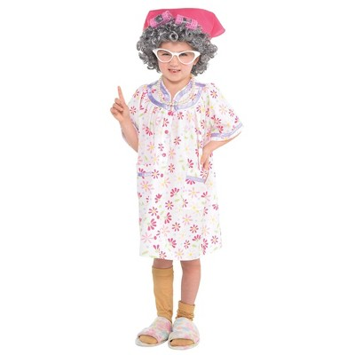 Kids' Little Old Lady Halloween Costume