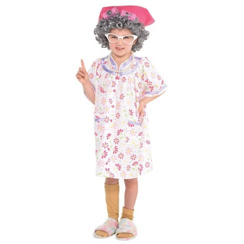 Girls' Little Old Lady Halloween Costume