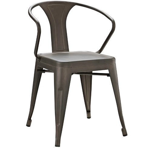Promenade Dining Chair Brown - Modway - image 1 of 4