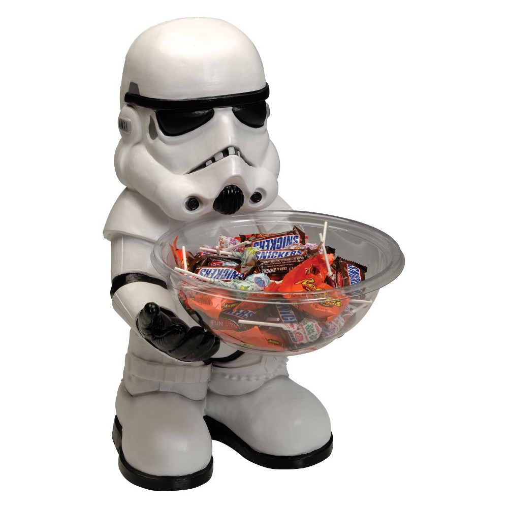 Star Wars - Stormtrooper Candy Bowl and Holder, Multi-Colored