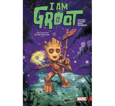 I Am Groot -  by Christopher Hastings (Paperback) - image 1 of 1