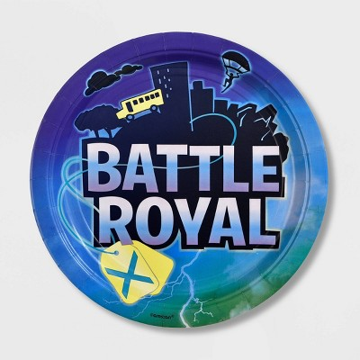 8ct Battle Royal Dinner Paper Plates