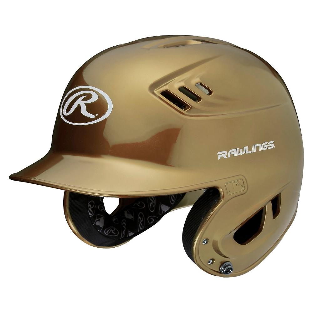 Rawlings R16 Series Metallic Helmet Jr - Vegas Gold (6 3/8 - 7 1/8)