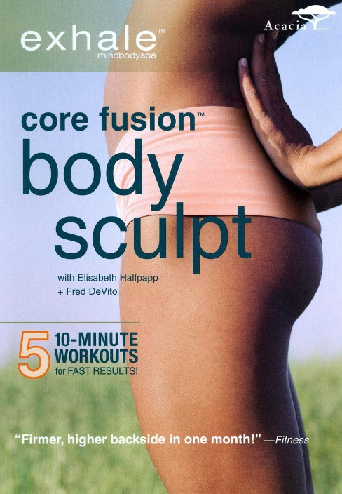 Exhale:Core Fusion Body Sculpt (DVD) - image 1 of 1