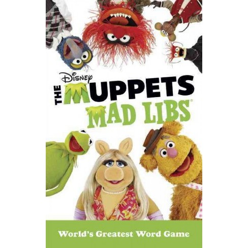 The Muppets Mad Libs - by  Kendra Levin (Paperback) - image 1 of 1