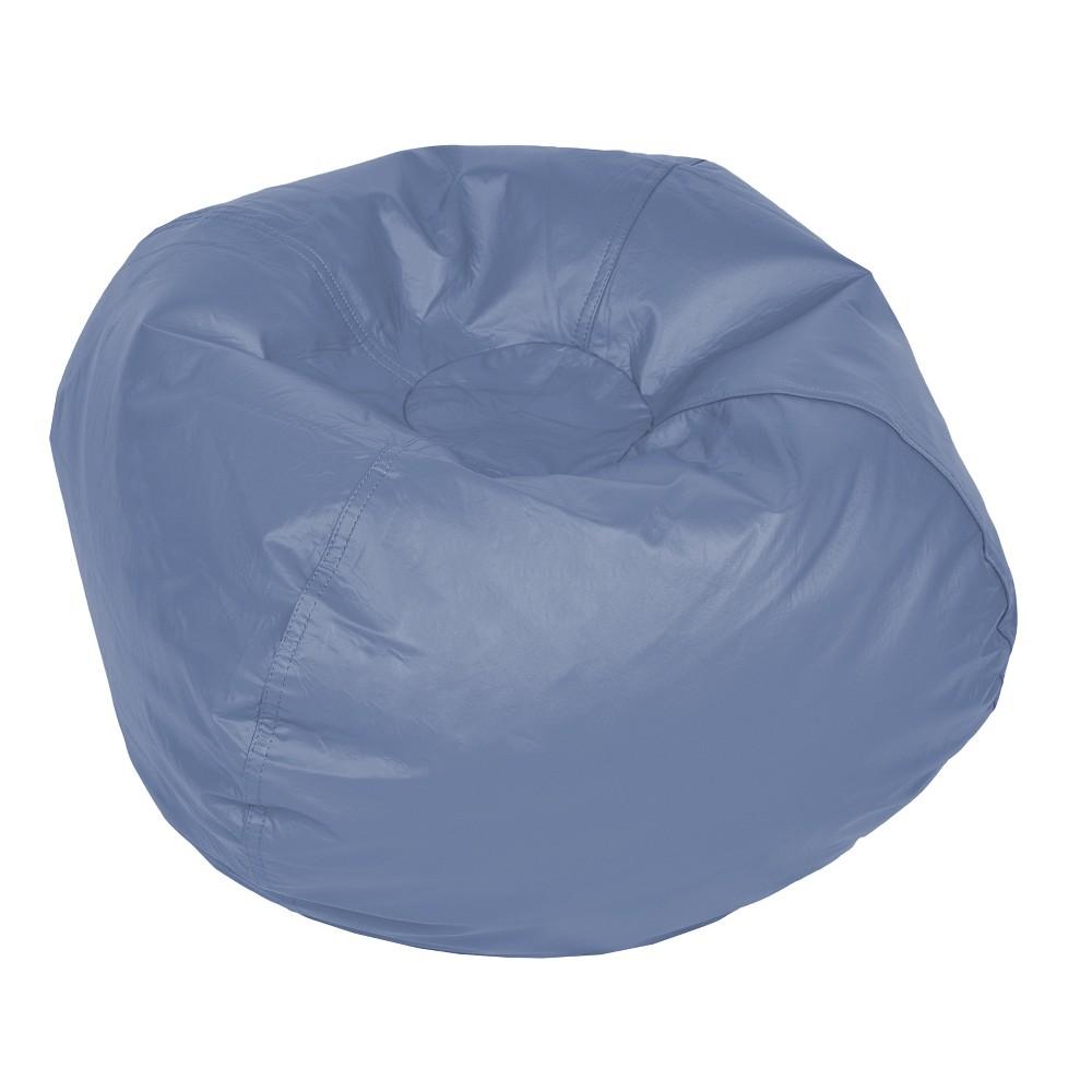 b0fa31004c7 Vinyl Bean Bag Dusty Blue Acessentials Dusty Lilac