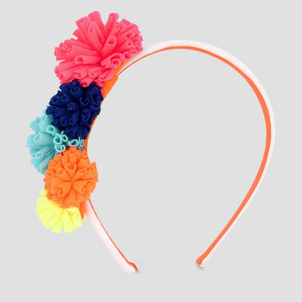 Girls' Jersey Pom Headband - Cat & Jack, Multi-Colored