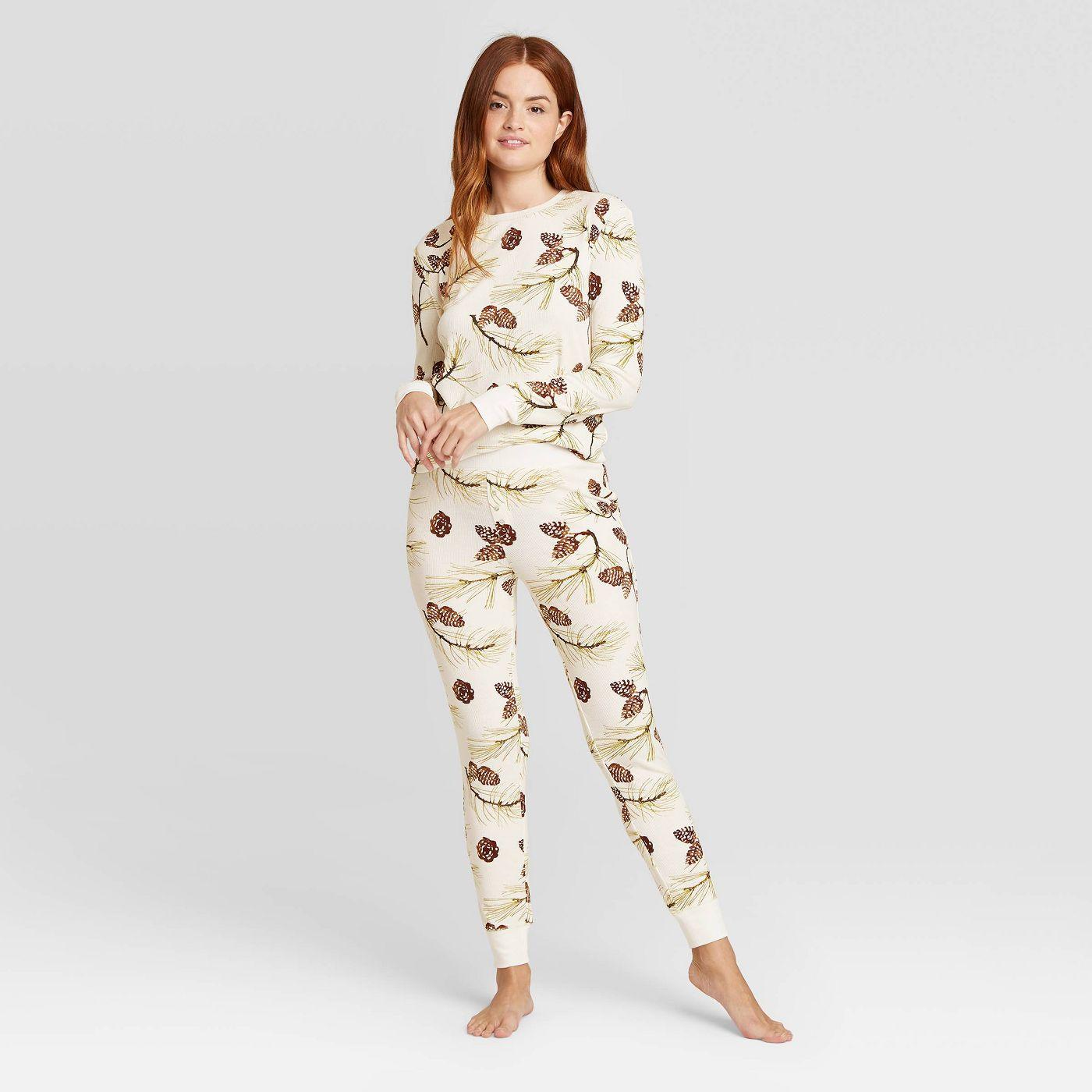 Women's Thermal Pajama Set - Stars Above™ - image 1 of 5
