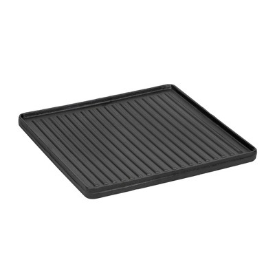 "Stansport Preseasoned Cast Iron Griddle 15"" x 15"""