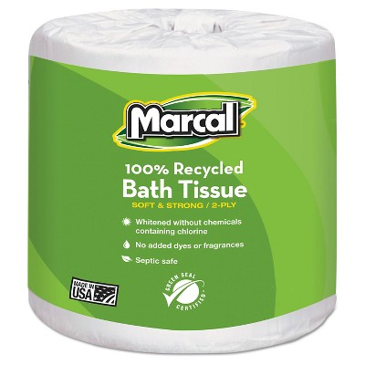 Toilet Paper: Marcal Recycled Bath Tissue