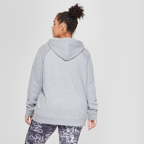 9959de7906615 Women s Plus Size Authentics Full Zip Fleece - C9 Champion® Heather Grey 3X    Target