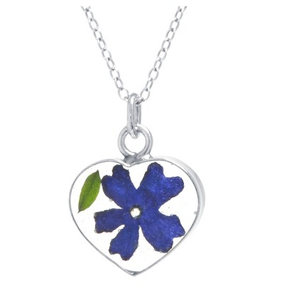 Fine Jewelry Necklace Sterling Dark Purple