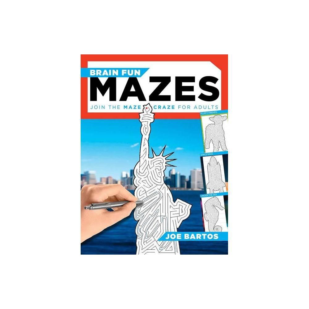 Brain Fun Mazes By Joe Bartos Paperback