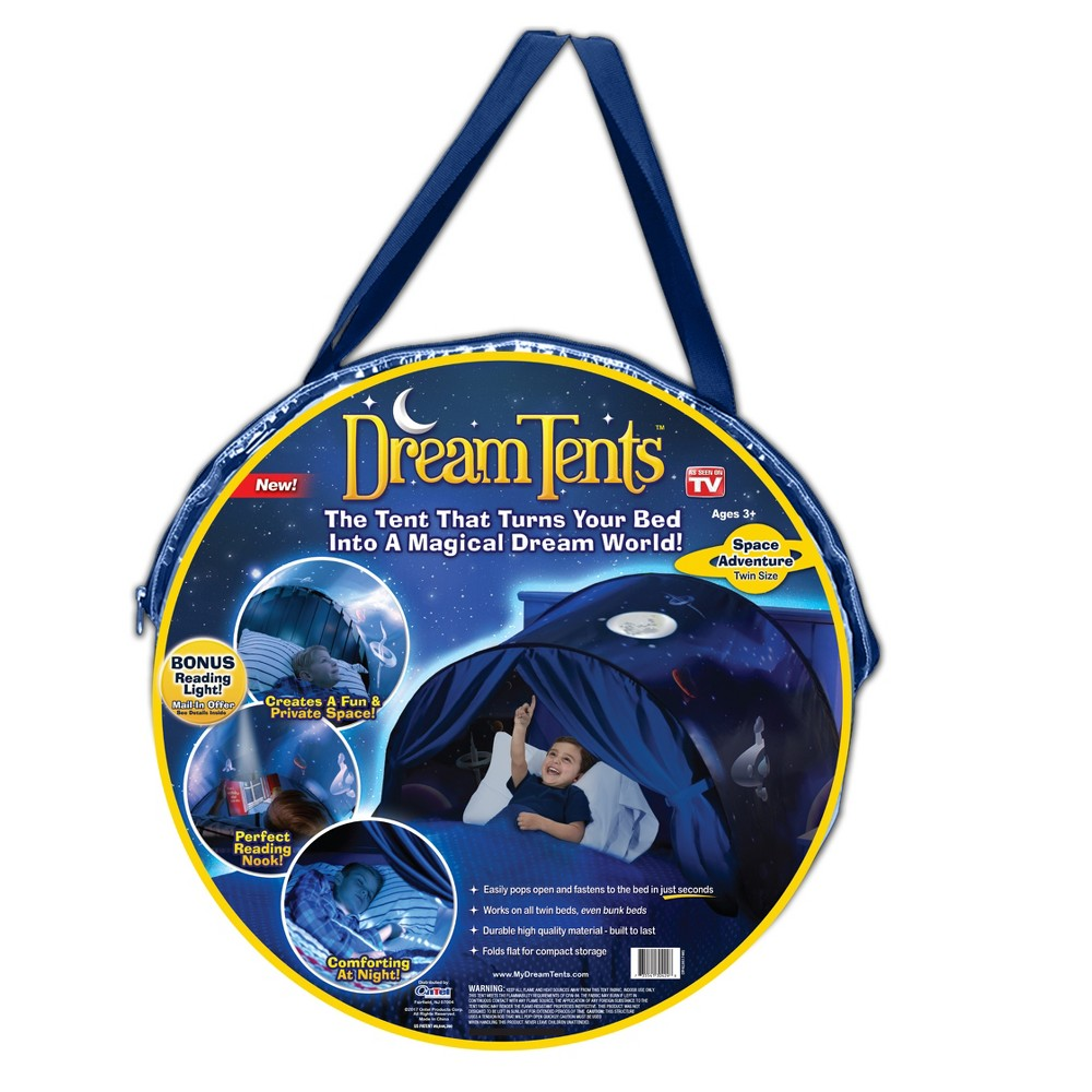 As Seen on TV Dream Space Adventure Bed Tents, Multi-Colored