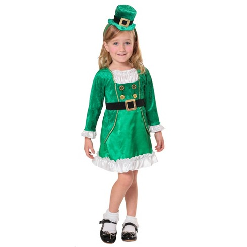 Toddler Girls  St. Patrick s Day Leprechaun Costume 2-3T - Spritz ... 8e92db035661