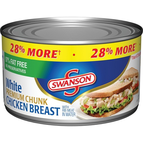 Swanson® Premium White Chunk Chicken Breast in Water 12.5oz - image 1 of 5