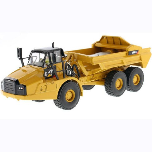 """CAT Caterpillar 740B EJ Articulated Truck with Operator """"High Line Series"""" 1/50 Diecast Model by Diecast Masters - image 1 of 4"""