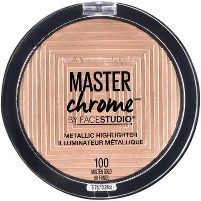 Maybelline Face Studio Master Chrome Metallic Highlighter - 0.24oz