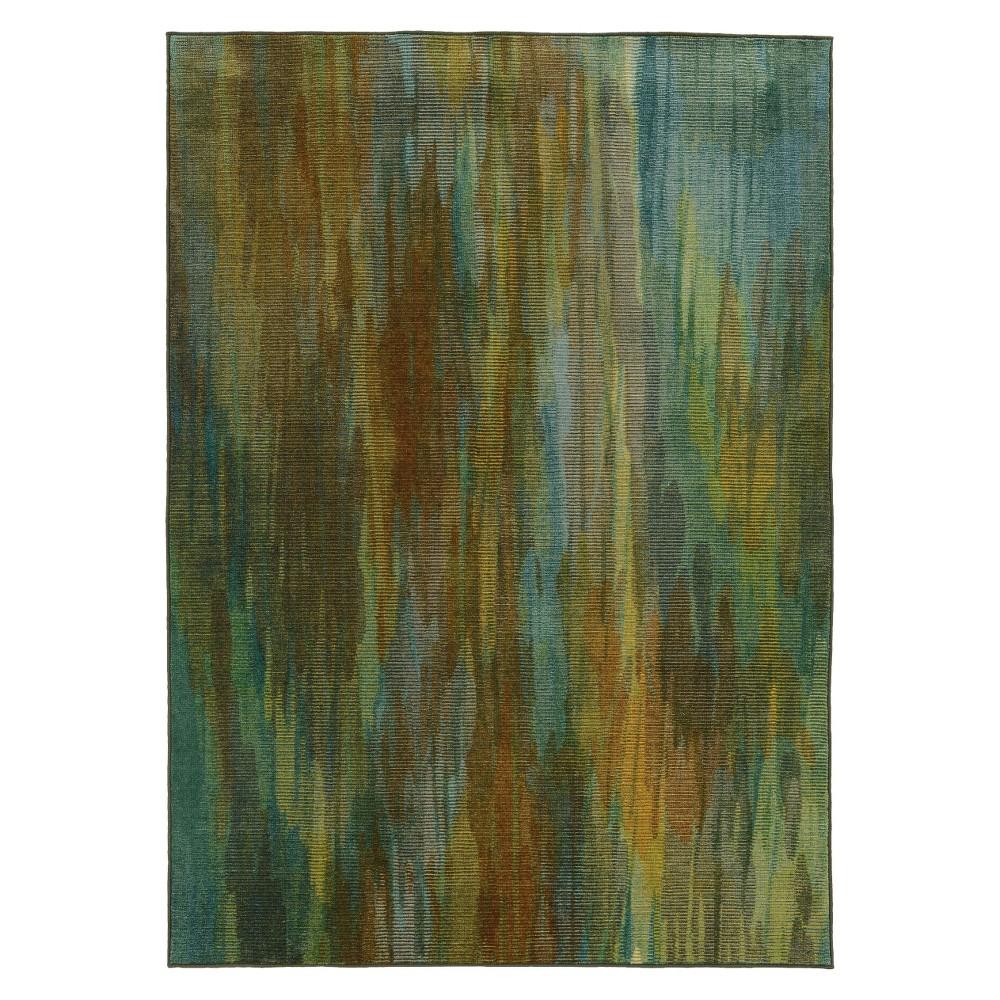 10'x13' Fleck Area Rug Green - Pantone Universe, Green Multi-Colored