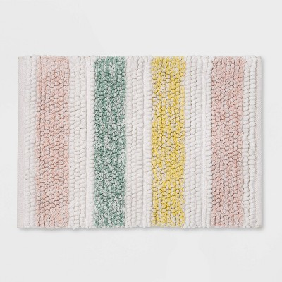 Multi Stripe Bath Rug - Threshold™