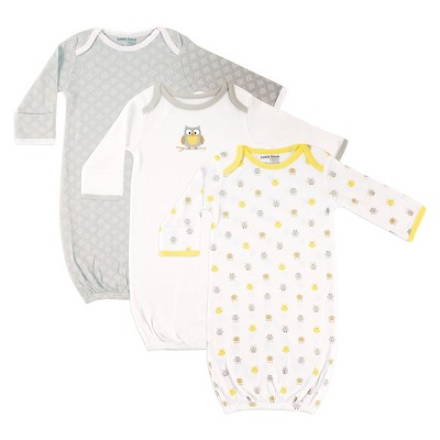 Luvable Friends Baby 3 Pack Sleeper Set - Owl