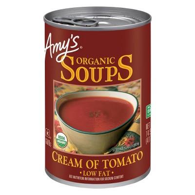 Amy's Organic Gluten Free Low Fat Cream of Tomato Soup - 14.5oz