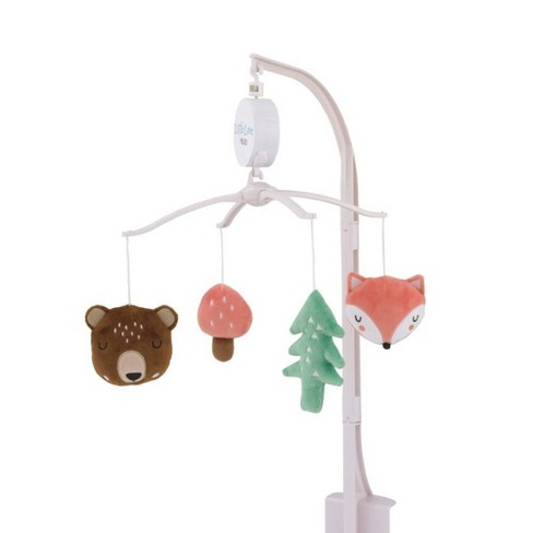 Little Love By Nojo Retro Happy Camper Forest Nursery Crib Musical Mobile - image 1 of 3