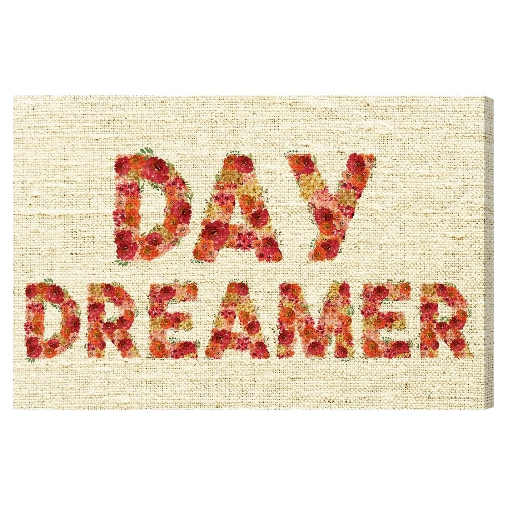 "Image of ""Oliver Gal Unframed Wall """"Day Dreams"""" Canvas Art (24x16), Multi-Colored"""