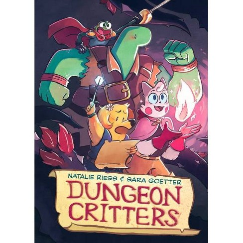 Dungeon Critters - by  Natalie Riess & Sara Goetter (Paperback) - image 1 of 1