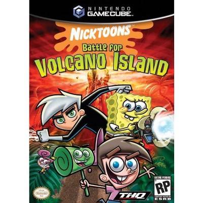 Nicktoons Battle For Volcano Island - Nintendo Gamecube