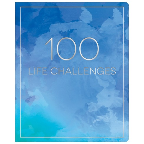 """Lined Journal 8.5""""x 6"""" 100 Life Challenges - Piccadilly - image 1 of 6"""