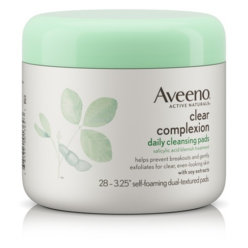 Aveeno Clear Complexion Daily Facial Cleansing Pads - 28ct - image 1 of 8