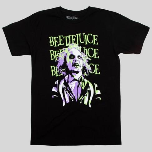 Men's Beetlejuice Short Sleeve Graphic T-Shirt - Black - image 1 of 1
