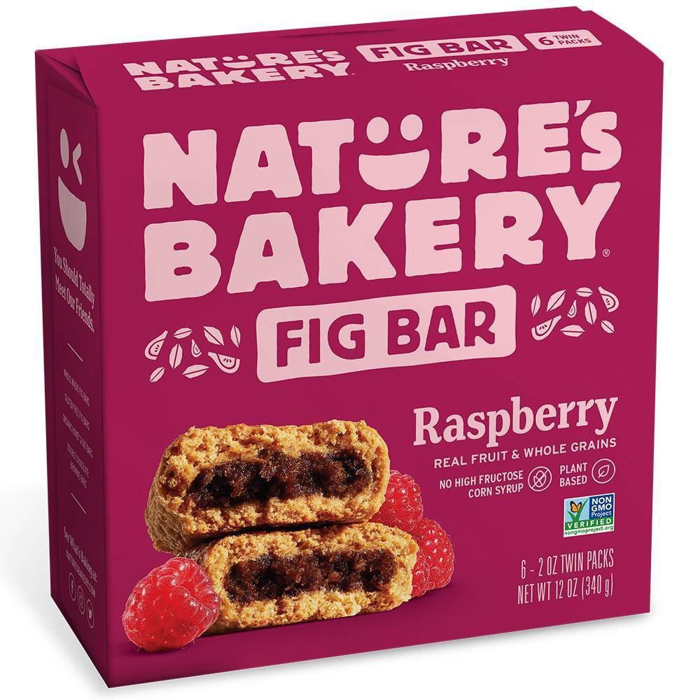 Nature's Bakery Raspberry Fig Bar - 6ct