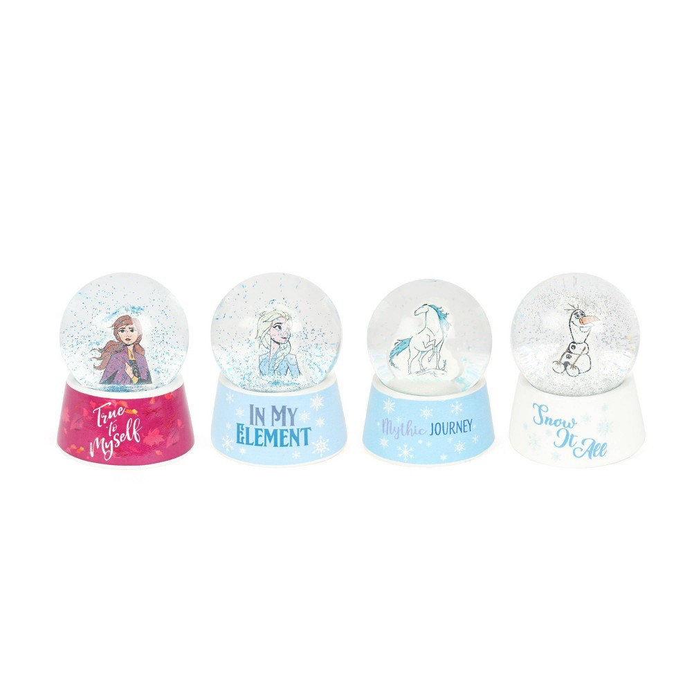 Image of Frozen 2 Set of Four Snow Globes